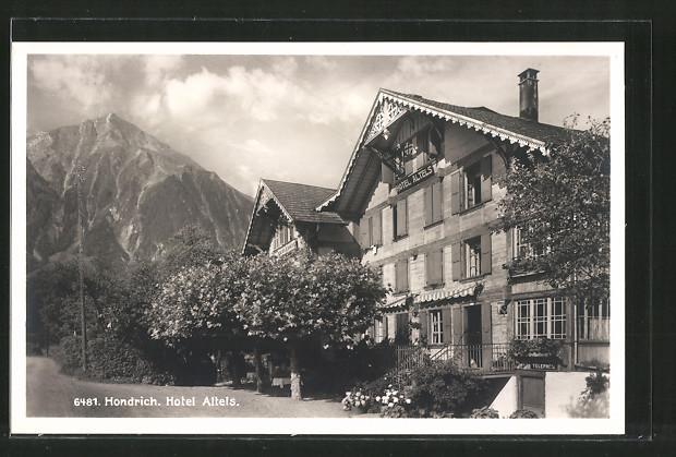 AK Hondrich, Hotel Alteis