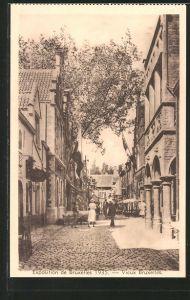 AK Bruxelles, Exposition de Bruxelles 1935, Vieux Bruxelles, Ausstellung