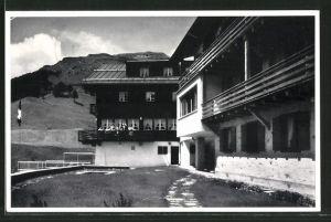 AK Wergenstein, Haus Piz Vizan, Ferienheim der S.M.U.V.