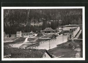 AK Luziensteig, Blick auf die Festung
