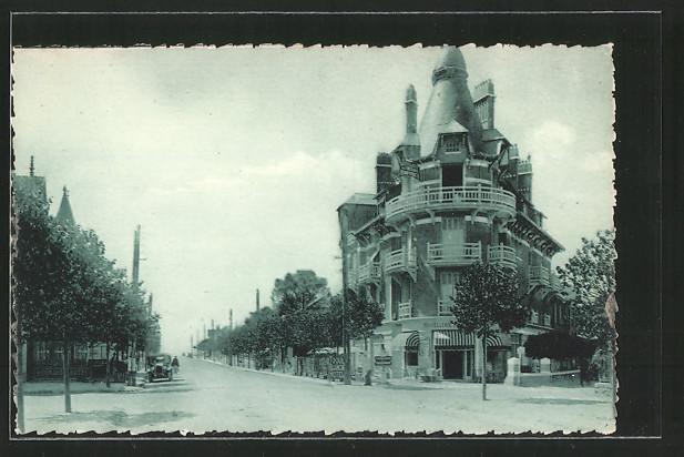 AK La Baule-les-Pins, L'Avenue des Tilleuls
