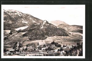 AK Neuberg a. Mürz, Gesamtansicht mit Schneealpe und Rabenstein