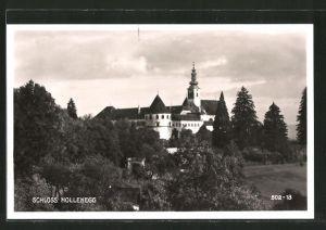 AK Hollenegg, Blick zum Schloss