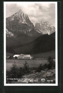 AK Admont, Schloss Kaiserau mit Reichenstein