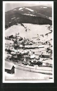 AK Spital a. Semmering, Ortsansicht im Winter