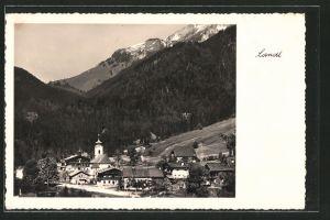 AK Landl, Ortsansicht mit Kirche