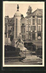 AK Marle, Monument aux enfants du pays morts pour la France