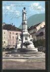 AK Bozen, das Walterdenkmal