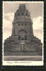 AK Leipzig, Völkerschlachtdenkmal, \