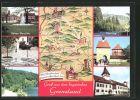 AK Marktredwitz, Altes Rathaus, Maxplatz in Rehau, Porzellanbrunnen in Selb, Landkarte der Porzellanstrasse
