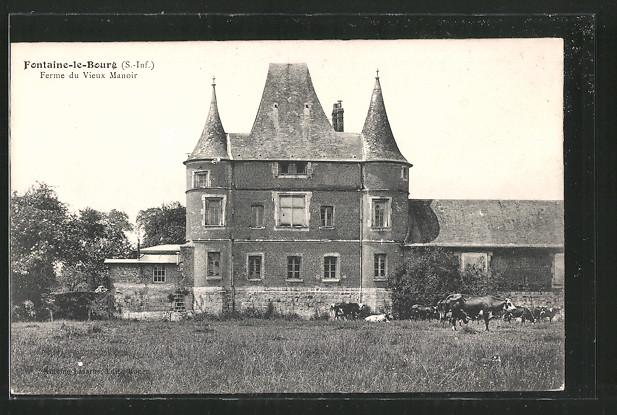 AK Fontaine-le-Bourg, ferme du vieux manoir