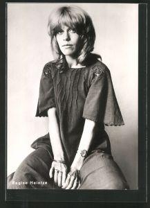 AK Regine Heintze, Schauspielerin, DDR