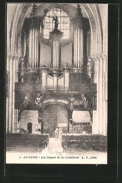 AK Angers, Les orgues de la cathédrale, Orgel