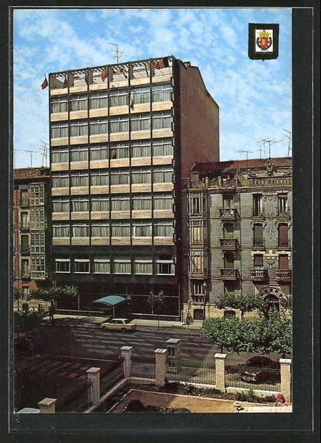 AK Valladolid, Hotel Felipe IV, Gamazo 16, Wappen Nr. 6720855 ...