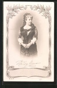 AK Portrait der Schauspielerin Hedwig Niemann