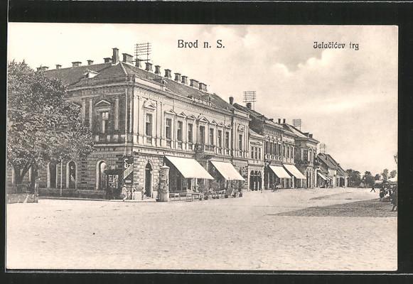 AK Brod n. S., Jelacicev trg