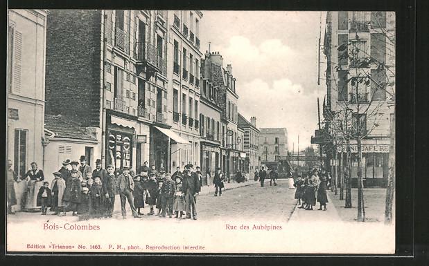 AK Bois-Colombes, Rue des Aubépines