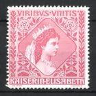 Reklamemarke Portrait Kaiserin Elisabeth von Österreich, Sissi, rosa