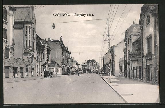 AK Szolnok, Szapáry utca