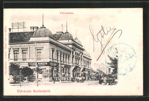 AK Szolnok, Városháza