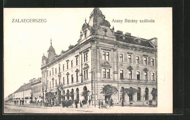 AK Zalaegerszeg, Arany Bárány szálloda