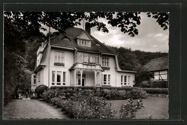 AK Timmendorfer Strand Posterholungsheim Haus Oldenburg