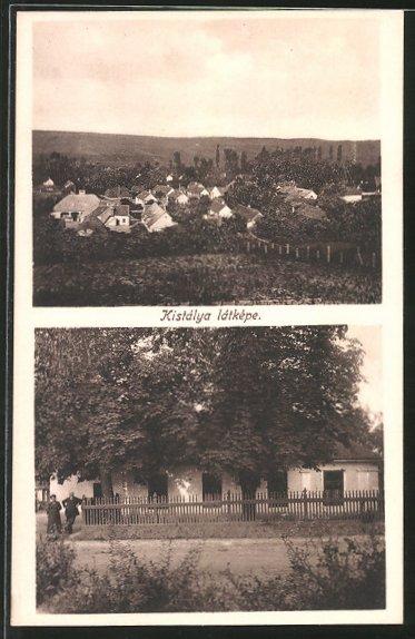 AK Kistálya, Ortsansicht, Blick auf ein Haus