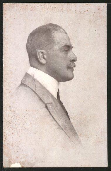 AK Porträt Fürst Max Egon II. zu Fürstenberg im Anzug
