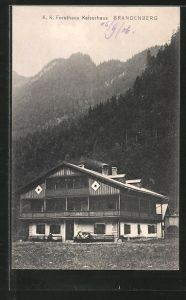 AK Brandenberg, K. k. Forsthaus Kaiserhaus