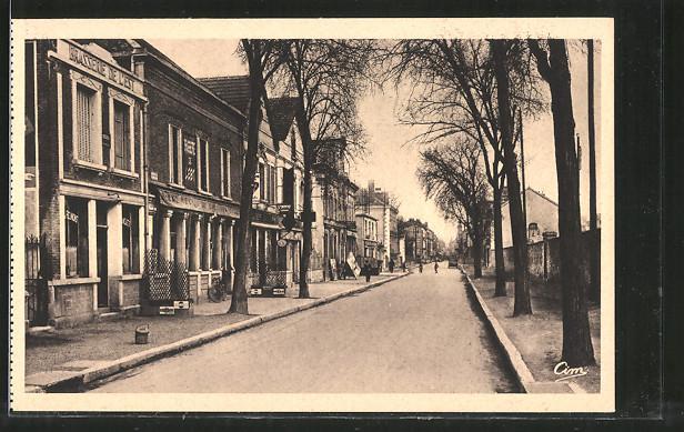 AK Romilly-sur-Seine, Avenue de la Boule d'Or