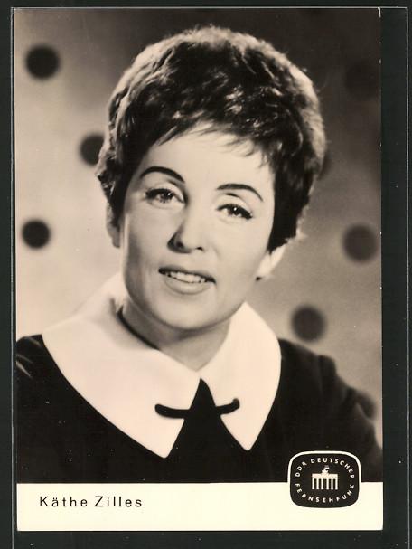 AK Portrait der Schauspielerin Käthe Zilles