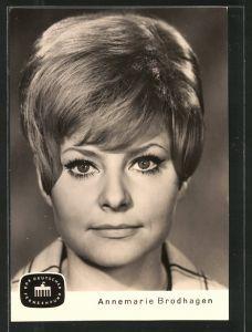 AK Portrait der Schauspielerin Annemarie Brodhagen