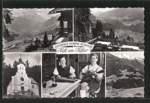 AK Zell a. Ziller, Gasthaus