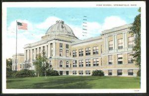 AK Springfield, OH, High School