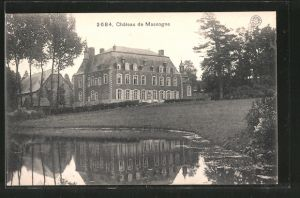 AK Massogne, Chateau, Blick zum Schloss