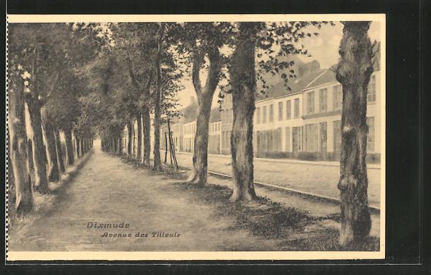 AK Dixmude, Avenue des Tilleuls