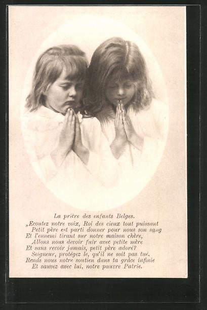 AK Kinderfürsorge, Kinder im stillen Gebet
