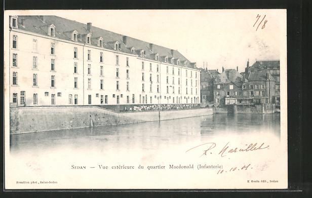AK Sedan, Quartier Macdonald (Infanterie)