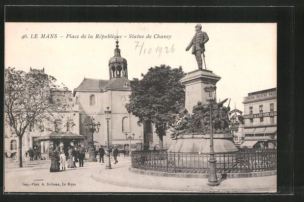 Diverse Philatelie Briefe & Kartenposten Ansichtskarte Frankreich Le Manns Le Boulevard De La Republique Nicht Gelaufen