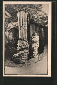 AK Postojnska jama / Adelsberger Grotte, Briljant, Partie in Tropfsteinhöhle