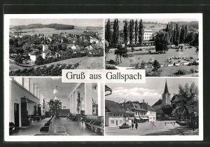 AK Gallspach, Ortspartien, Innenansicht, Ortspanorama