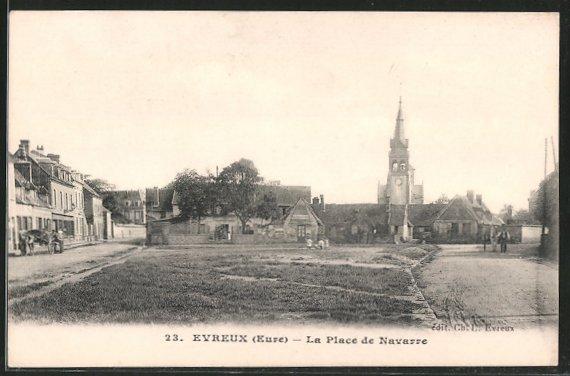 AK Évreux, la place de Navarre