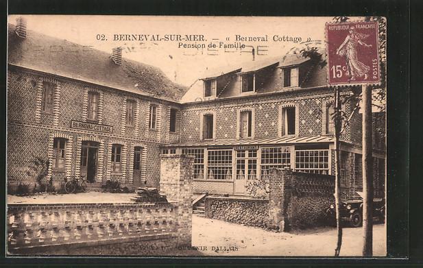 AK Berneval-sur-Mer, pension de famille