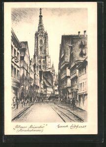 AK Ulm, Blick zum Münster