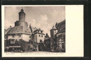 AK Büdingen, Schloss des Fürsten zu Ysenburg und Büdingen
