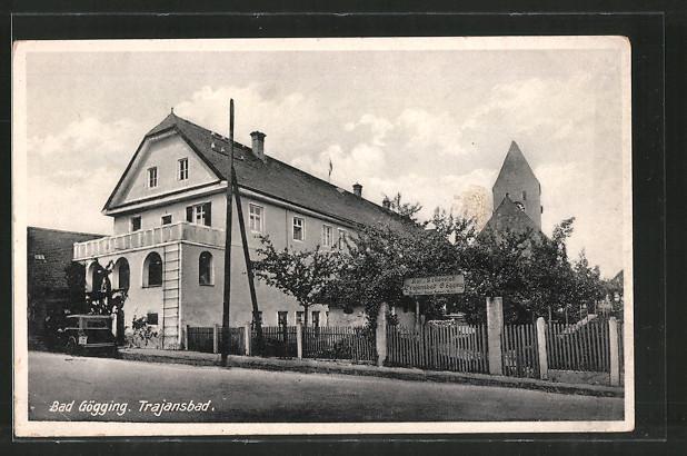 AK Bad Gögging, Hotel, Kur- und Heilanstalt Trajansbad