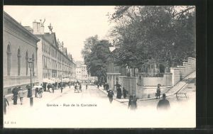 AK Geneve, Rue de la Corraterie