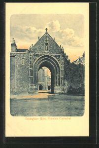 AK Norwich, Cathedral, Erpingham Gate