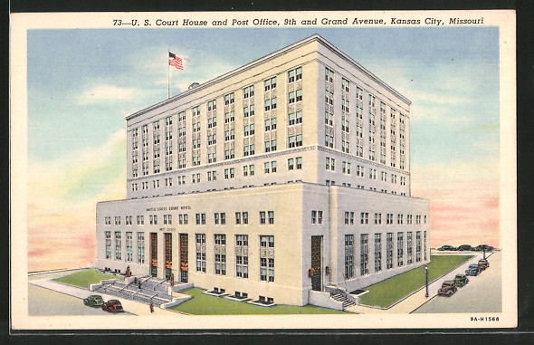 AK Kansas City, MO, U.S. Court House and Post Office, 9th and Grand Avenue