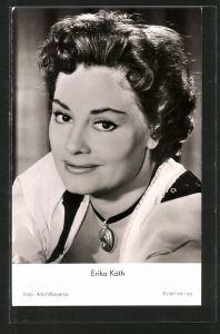 AK Schauspielerin Erika Köth in